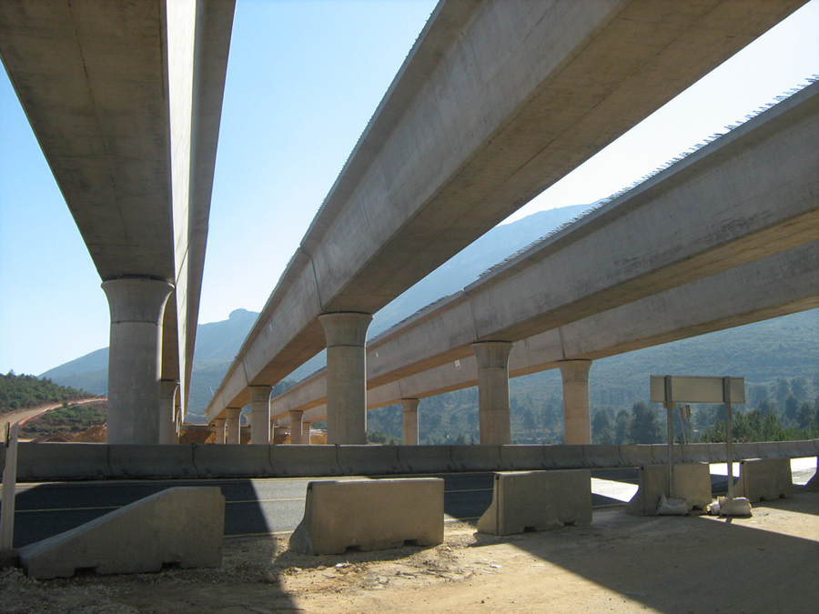 Highway bridges (Alcoy - Spain)