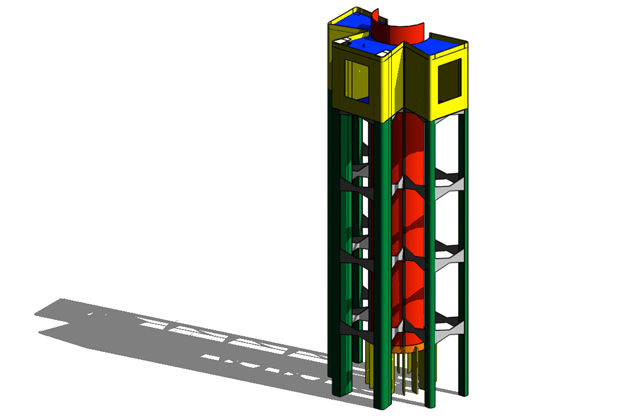 Hyper-Tower for Collecting Solar Energy