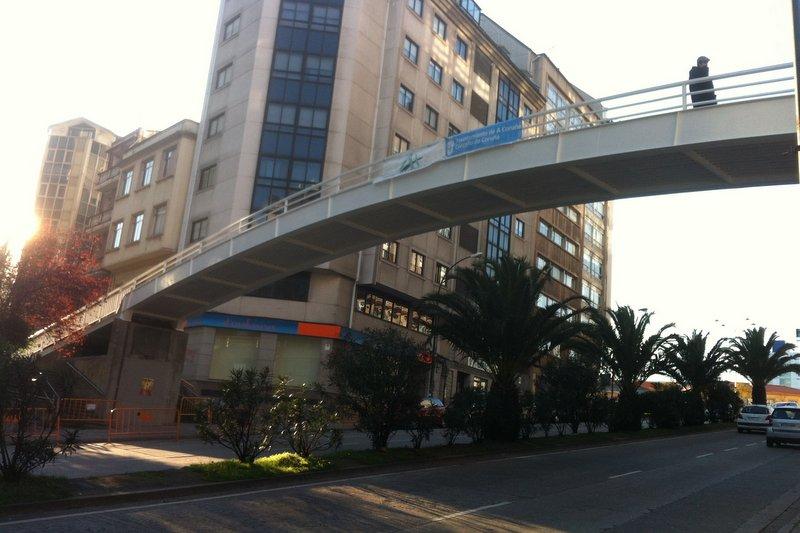 Rehabilitacion estructural de pasarelas peatonales en A Coruña