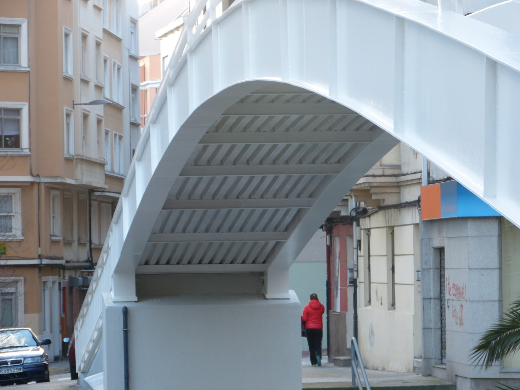 A Coruña walkways structural rehabilitation