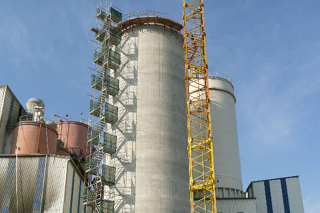 4000 Ton Silo at the Matsa Factory in Narón