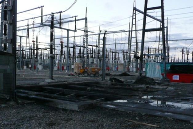 Rehabilitación de estructuras incendiadas