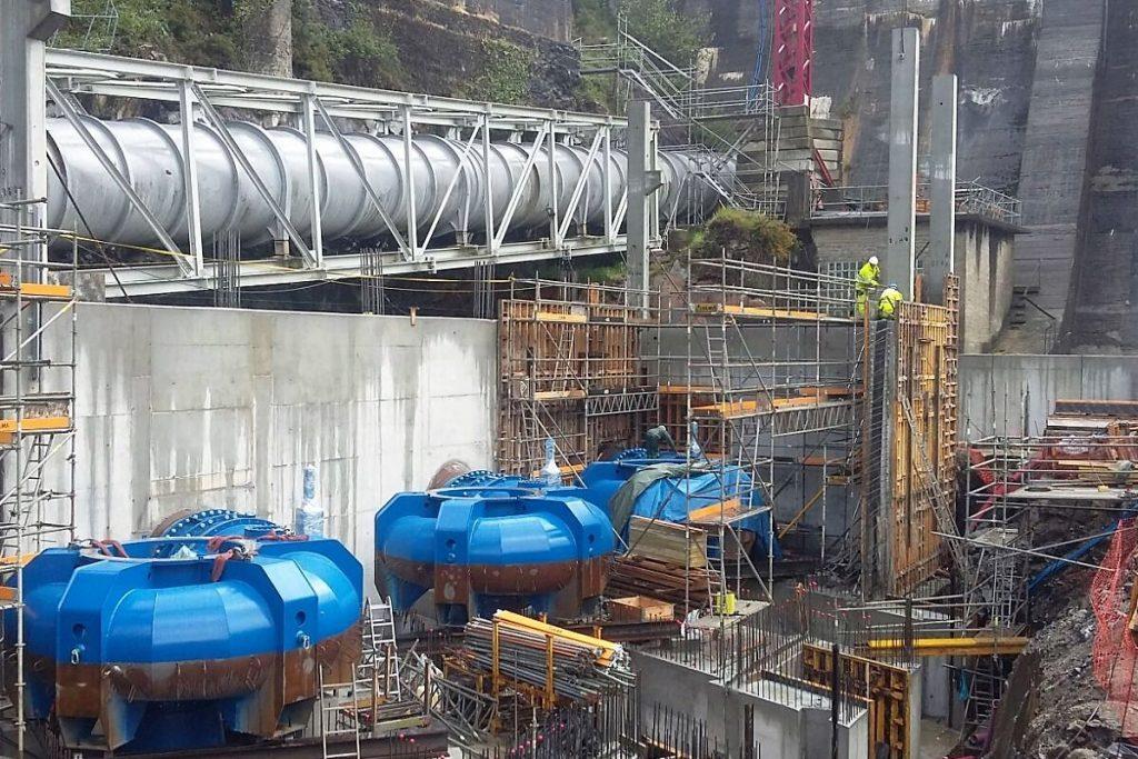 3 centrales hidroeléctricas río Xallas