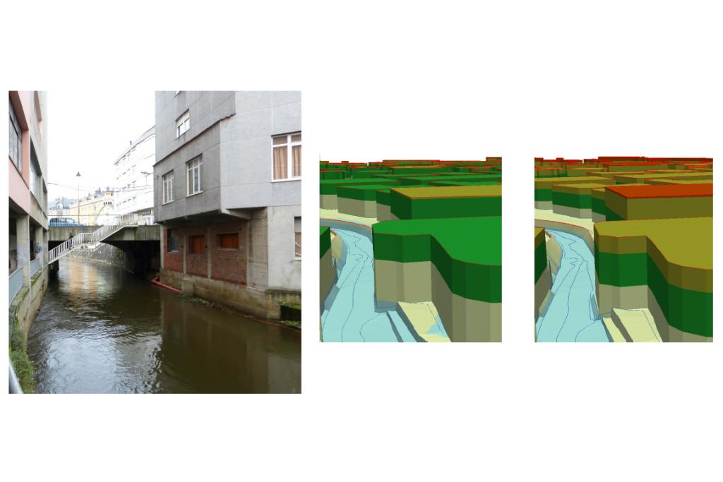 Riesgos de inundación en Carballo (España)