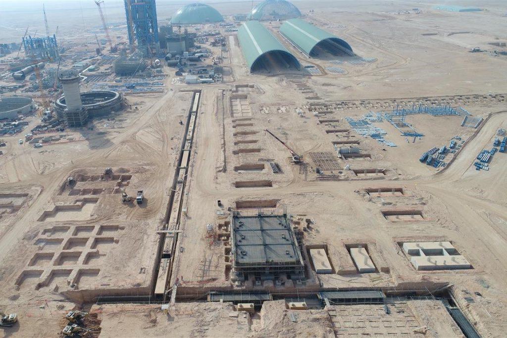 Nueva Fábrica de Cemento en Yamama (Arabia Saudí)