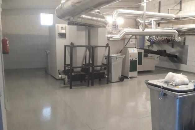 Proyecto y DO de Instalación de Biomasa en Campus de A Xunqueira